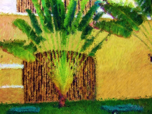 Tropical Visit-Impessionist Painting(5)