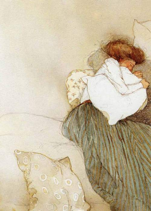 Illustration by Lisbeth Zwerger