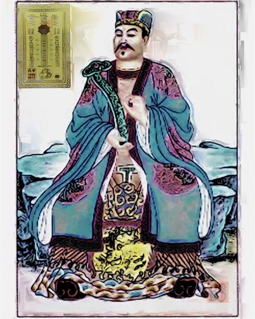01-GeneralGuanZhong talismanFinal Painting