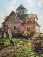 Summer Cottage Nikolai - 1907 - Nikanorovich Dubovskoy-Russian, 1859-1918n