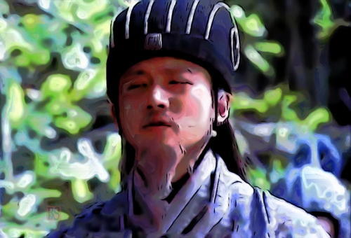 1-Zhuge Liang observes enemy camp.