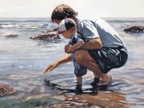 26-Time with Dad by Steve Hanks