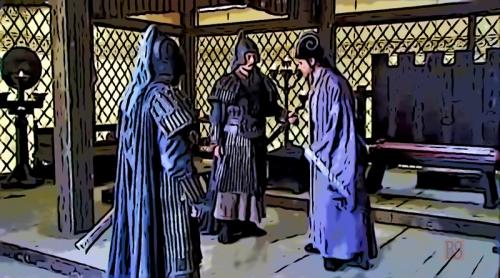 3- Zhuge Liang questions Jiang Wei