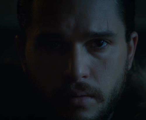 Jon Snow and Dragon (22)