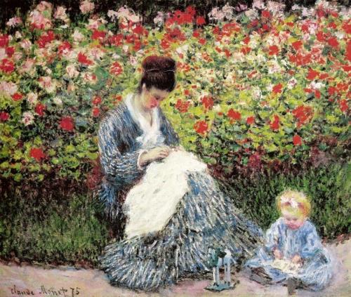 1-Camille Monet e criança!