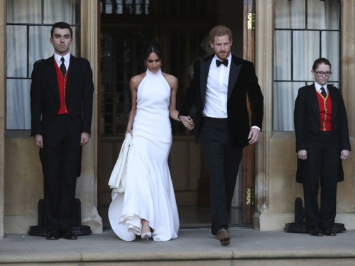 20=Dress from designer Stella McCartney- Photo by Steve Parsons- Ap